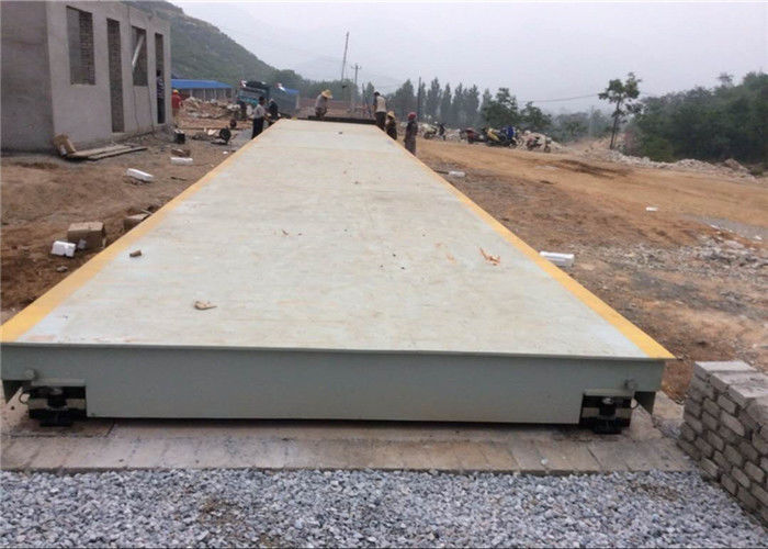 Vehicle Weight Scale Electronic Weighbridge / Portable Weighbridge 5s Stable Time