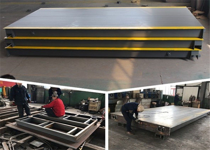 3*18m Size Heavy Duty Weighbridge Large Screen Digital Display ISO9001 Certificated
